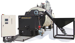 SMWB-P4000 WOOD PELLET STEAM BOILER