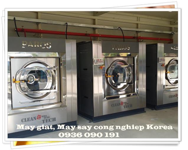 Máy giặt công nghiệp cao cấp made in korea