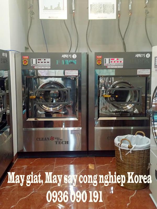 Máy giặt công nghiệp paros korea